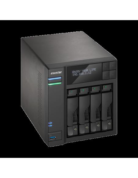 ASUS AS7004T NAS Ethernet LAN Black Asustek 90IX00E1-BW3S10 - 3