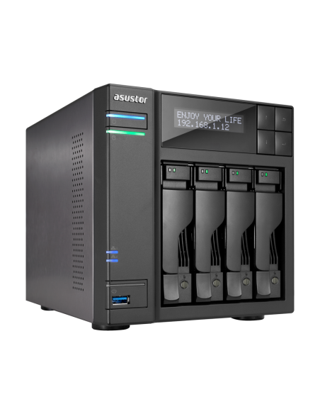 ASUS AS7004T NAS Ethernet LAN Black Asustek 90IX00E1-BW3S10 - 4