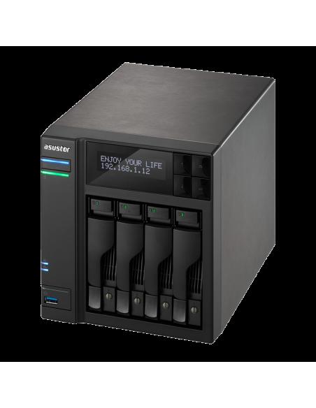 ASUS AS7004T NAS Ethernet LAN Black Asustek 90IX00E1-BW3S10 - 5