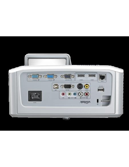 Vivitek D757WT data projector Desktop 3300 ANSI lumens DLP WXGA (1280x800) White Vivitek D757WT - 6