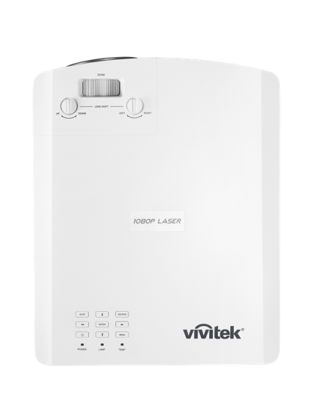 Vivitek DH4661Z data projector Desktop 5000 ANSI lumens DLP 1080p (1920x1080) White Vivitek DH4661Z-WH - 2