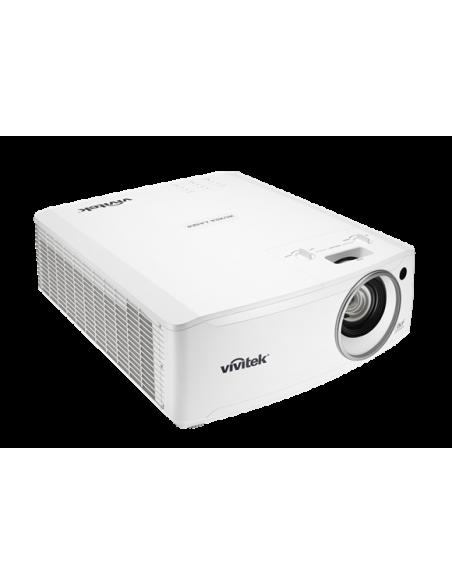 Vivitek DU4671Z data projector Desktop 5500 ANSI lumens DLP WUXGA (1920x1200) 3D White Vivitek DU4671Z-WH - 2