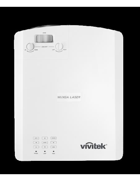 Vivitek DU4671Z data projector Desktop 5500 ANSI lumens DLP WUXGA (1920x1200) 3D White Vivitek DU4671Z-WH - 4