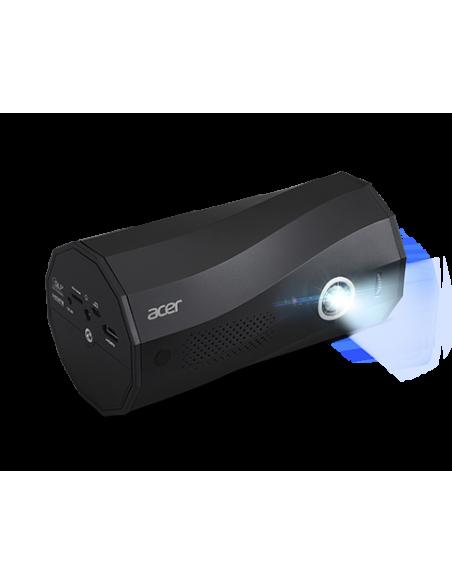 Acer C250i datorprojektorer Portabel projektor 300 ANSI-lumen DLP 1080p (1920x1080) Svart Acer MR.JRZ11.001 - 4