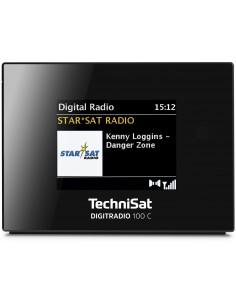 TechniSat Digitradio 100 C Kello Digitaalinen Musta Technisat 0000/3921 - 1