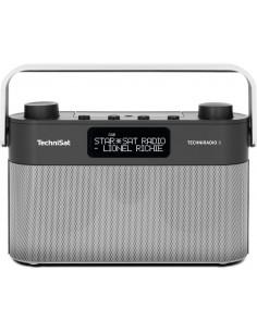 TechniSat TECHNIRADIO 8 Bärbar Analog och digital Svart, Silver Technisat 0000/3930 - 1