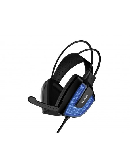 Sandberg Derecho Headset Kuulokkeet Pääpanta USB A-tyyppi Musta, Sininen Sandberg 125-77 - 1