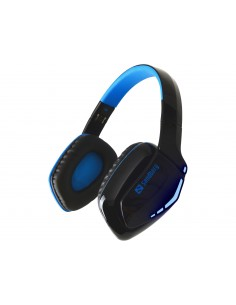 Sandberg Blue Storm Wireless Headset Head-band Bluetooth Black, Sandberg 126-01 - 1