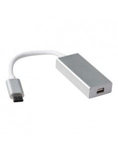 ACT SB0021 cable gender changer USB type C Mini DisplayPort White Suomen Addon 309653 - 1