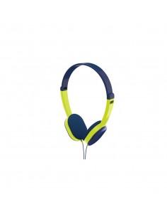 Hama Kids Headphones Head-band 3.5 mm connector Blue, Green Hama 177013 - 1