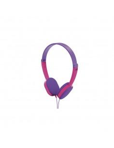 Hama Kids Headphones Head-band 3.5 mm connector Pink, Purple Hama 177014 - 1