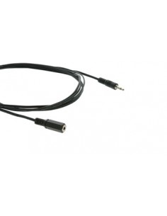 Kramer Electronics C-AS35M/AS35F-50 audiokaapeli 15.2 m 3.5mm Musta Kramer 95-0103050 - 1