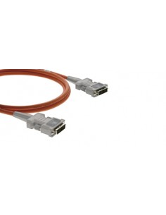 Kramer Electronics DVI, 50m DVI-kabel DVI-D Grå, Orange Kramer C-AFDM/AFDM-164 - 1