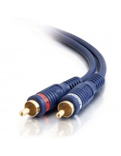 C2G 2m Velocity RCA Audio Cable kompositvideokabel Svart C2g 80212 - 1