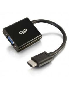 C2G 80500 videokaapeli-adapteri 0.2 m HDMI VGA (D-Sub) Musta C2g 80500 - 1