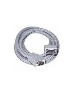 C2G 0.5m Monitor HD15 M/M cable VGA-kabel 0.5 m VGA (D-Sub) Grå C2g 81084 - 1
