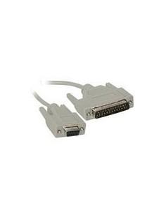 C2G 3m DB9 F/DB25 M Cable nätverkskablar Grå C2g 81436 - 1
