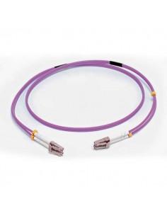 C2G 2M LC/LC OM4 LSZH FIBRE PATCH - VIOLET valokuitukaapeli Violetti C2g 81750 - 1