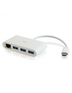 C2G 82409 keskitin USB 3.2 Gen 1 (3.1 1) Type-C 5000 Mbit/s Valkoinen C2g 82409 - 1