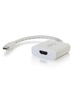 C2G Mini DisplayPort to HDMI Active Adapter Converter 4K UHD - White C2g 84308 - 1