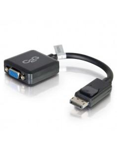 C2G 20cm DisplayPort m / VGA F 0.2 (D-Sub) Musta C2g 84323 - 1
