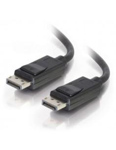 C2G 2m DisplayPort Cable with Latches 4K - 8K UHD M/M Black Svart C2g 84401 - 1