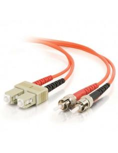 C2G 85486 valokuitukaapeli 15 m SC ST OFNR Oranssi C2g 85486 - 1