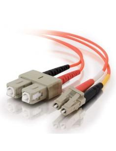C2G 85489 valokuitukaapeli 15 m LC SC OFNR Oranssi C2g 85489 - 1