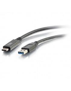C2G 88831 USB-kaapeli 0.9 m USB 3.2 Gen 1 (3.1 1) A C Musta C2g 88831 - 1