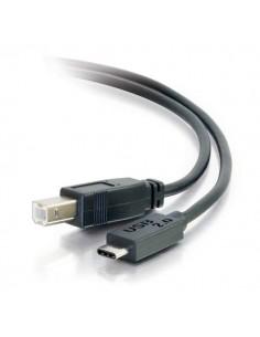C2G USB 2.0, C - Standard B, 1m USB-kablar B Svart C2g 88858 - 1