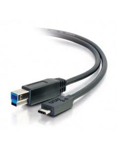C2G USB 3.0, C - Standard B, 2m USB-kaapeli 3.2 Gen 1 (3.1 1) B Musta C2g 88866 - 1