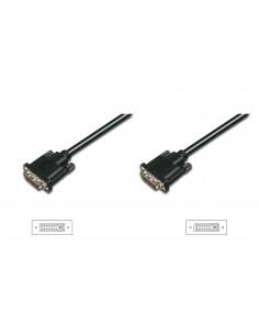 ASSMANN Electronic DVI-D 3m DVI-kabel Svart Assmann AK-320108-030-S - 1