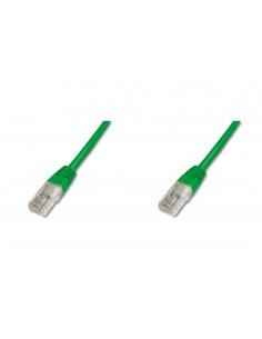 Digitus Premium CAT 5e U-UTP nätverkskablar Grön 5 m Cat5e U/UTP (UTP) Assmann DK-1511-050/G - 1