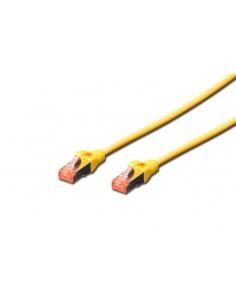 Digitus Professional nätverkskablar Gul 0.5 m Cat6 S/FTP (S-STP) Assmann DK-1644-005-Y-10 - 1