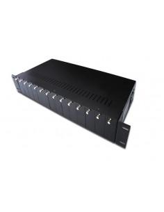 Digitus DN-82000 network equipment chassis 2U Black Assmann DN-82000 - 1