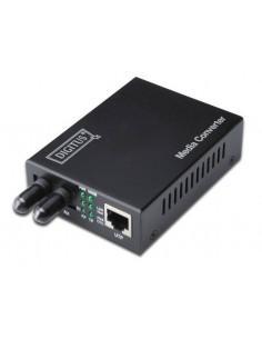 Digitus DN-82010-1 mediakonverterare för nätverk Intern 1310 nm Flerläge Svart Assmann DN-82010-1 - 1