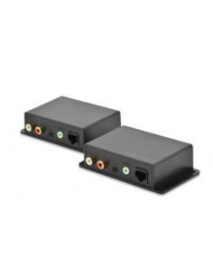 Digitus DS-56100 AV-förlängare Nätverkssändare och -mottagare Svart Assmann DS-56100 - 1