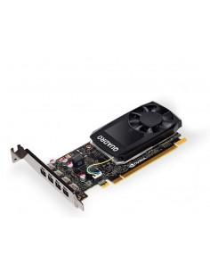 PNY VCQP1000DVIBLK-1 grafikkort NVIDIA Quadro P1000 4 GB GDDR5 Pny VCQP1000DVIBLK-1 - 1