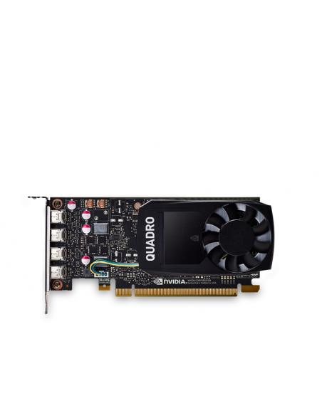 PNY VCQP1000DVIBLK-1 näytönohjain NVIDIA Quadro P1000 4 GB GDDR5 Pny VCQP1000DVIBLK-1 - 3