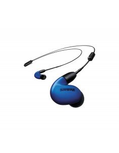 Shure SE846 Headset I öra 3.5 mm kontakt Bluetooth Svart, Blå Shure SE846-BLU+BT2-EF - 1