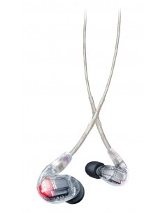 Shure SE846 Kuulokkeet In-ear 3.5 mm liitin Läpinäkyvä Shure SE846-CL-EFS - 1