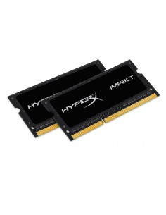 HyperX 8GB DDR3-1600 muistimoduuli 2 x 4 GB 1600 MHz Kingston HX316LS9IBK2/8 - 1