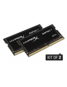 HyperX Impact HX432S20IBK2/64 muistimoduuli 64 GB 2 x 32 DDR4 3200 MHz Kingston HX432S20IBK2/64 - 1