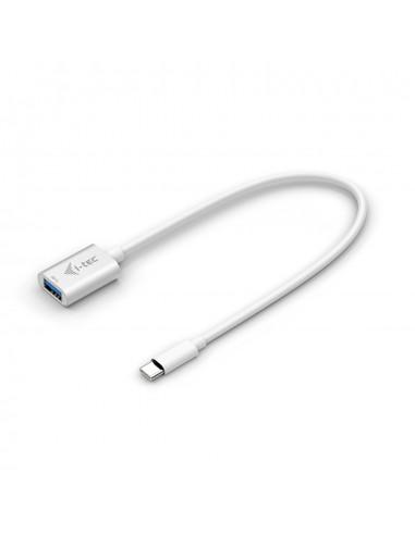 i-tec C31ADA USB-kablar 0.2 m USB 3.2 Gen 2 (3.1 2) C A Vit I-tec Accessories C31ADA - 1