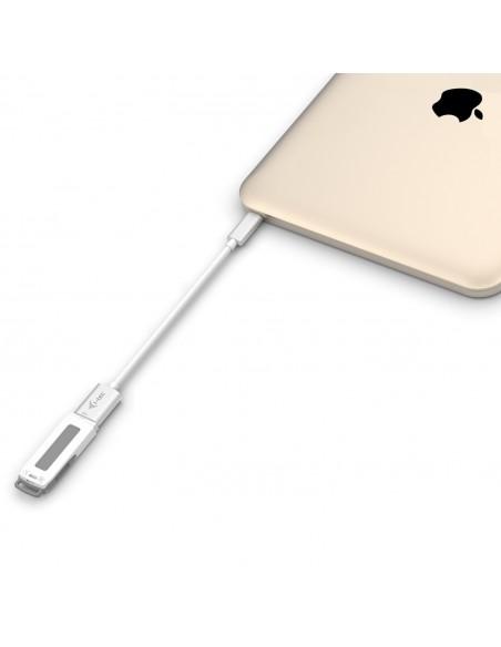 i-tec C31ADA USB-kaapeli 0.2 m USB 3.2 Gen 2 (3.1 2) C A Valkoinen I-tec Accessories C31ADA - 3