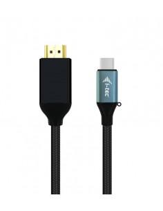 i-tec C31CBLHDMI60HZ2M videokabeladapter 2 m USB Type-C HDMI Svart I-tec Accessories C31CBLHDMI60HZ2M - 1