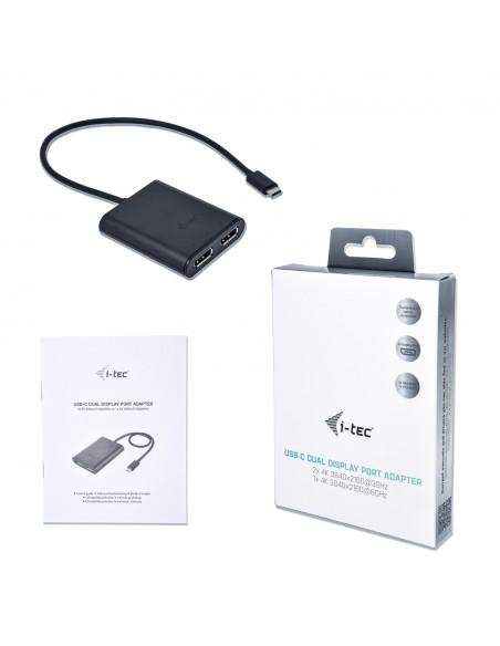 i-tec C31DUAL4KDP USB grafiikka-adapteri 3840 x 2160 pikseliä Musta I-tec Accessories C31DUAL4KDP - 6