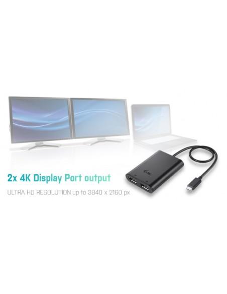 i-tec C31DUAL4KDP USB grafiikka-adapteri 3840 x 2160 pikseliä Musta I-tec Accessories C31DUAL4KDP - 7