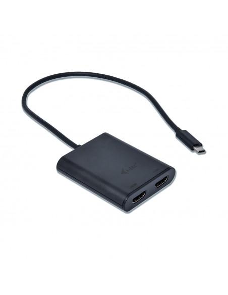 i-tec C31DUAL4KHDMI USB grafiikka-adapteri 3840 x 2160 pikseliä Musta I-tec Accessories C31DUAL4KHDMI - 2