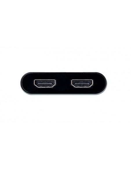 i-tec C31DUAL4KHDMI USB grafiikka-adapteri 3840 x 2160 pikseliä Musta I-tec Accessories C31DUAL4KHDMI - 3